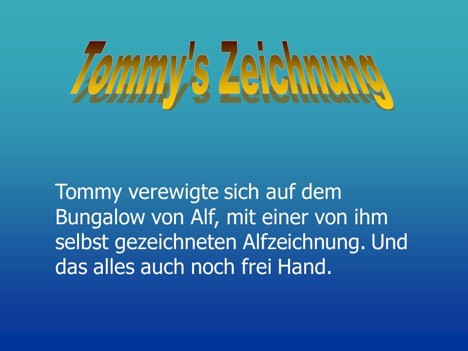 Tommy s Zeichnung