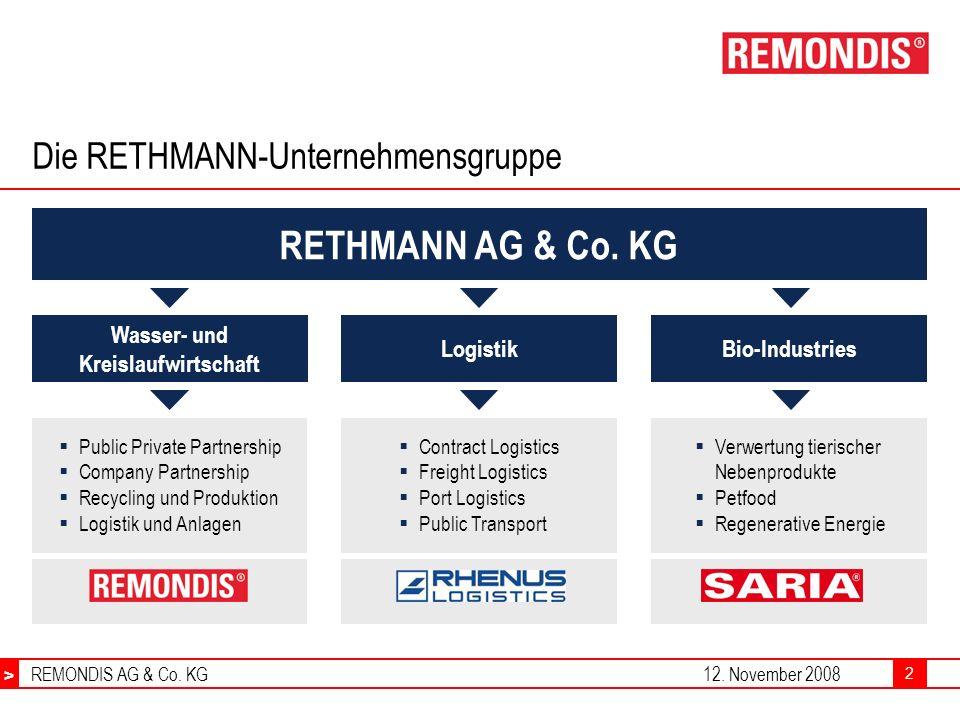 Die RETHMANN-Unternehmensgruppe