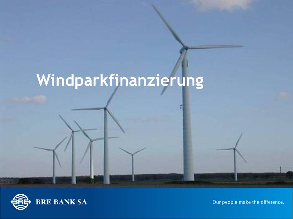 Windparkfinanzierung