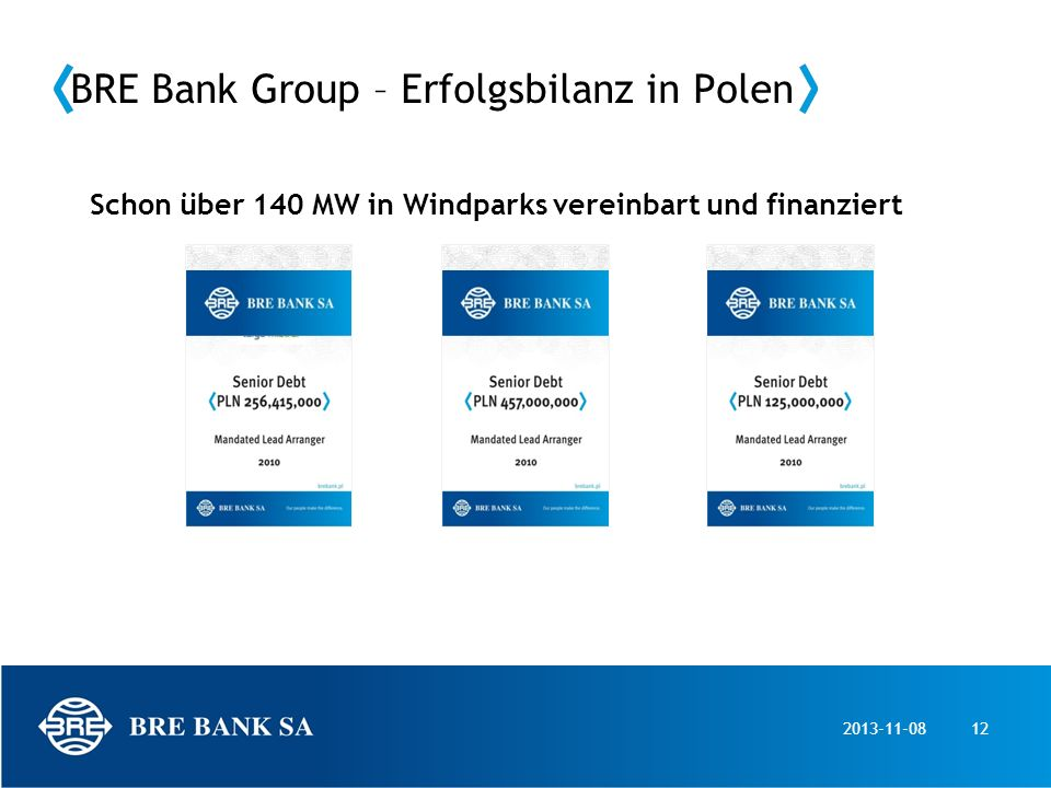BRE Bank Group – Erfolgsbilanz in Polen