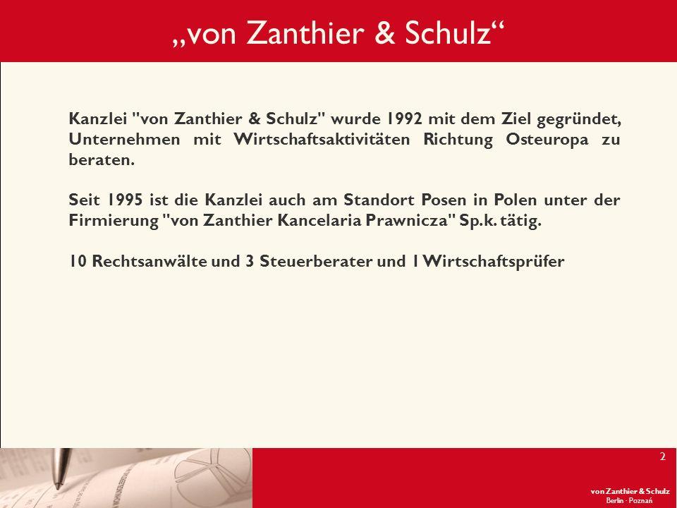 """""""von Zanthier & Schulz"""