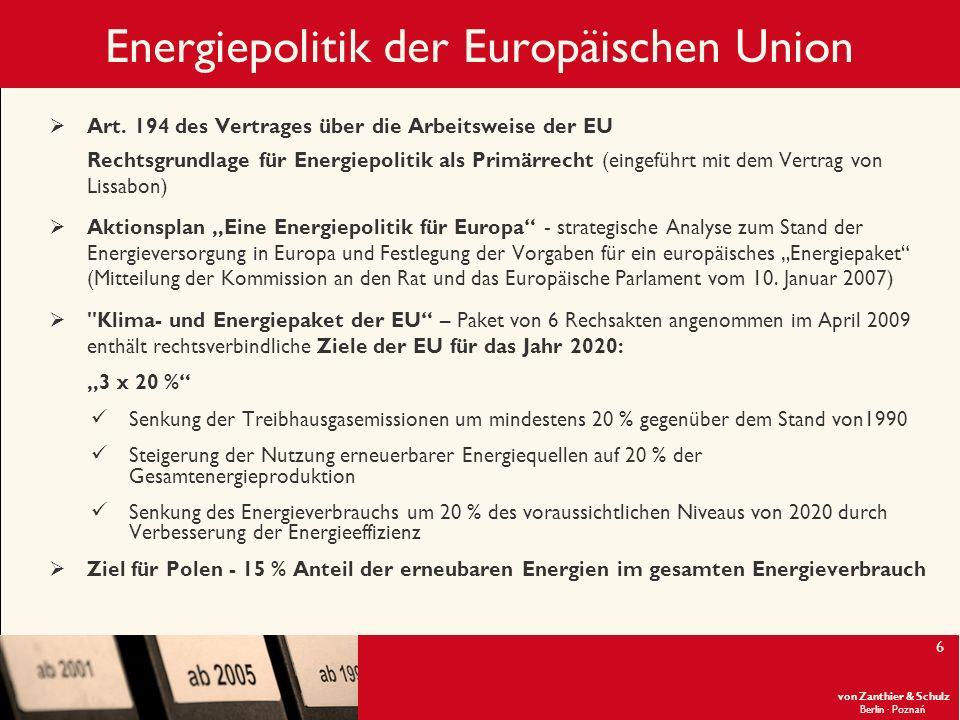 Energiepolitik der Europäischen Union