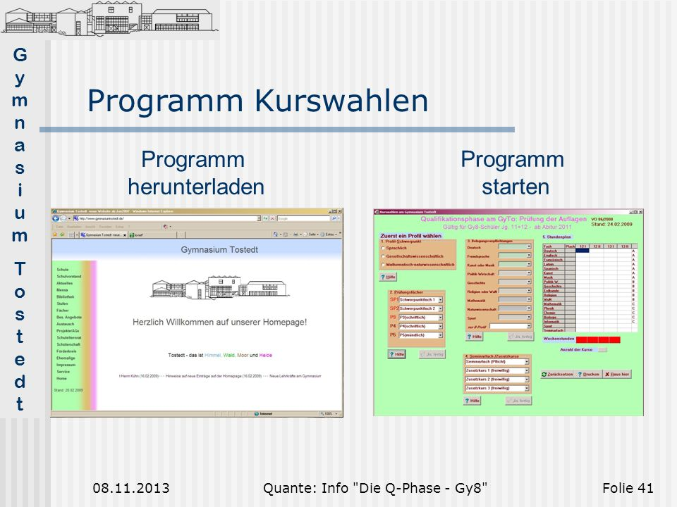 Quante: Info Die Q-Phase - Gy8