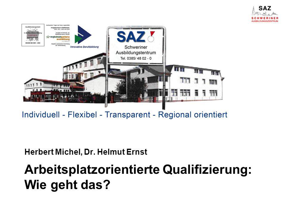 Herbert Michel, Dr. Helmut Ernst