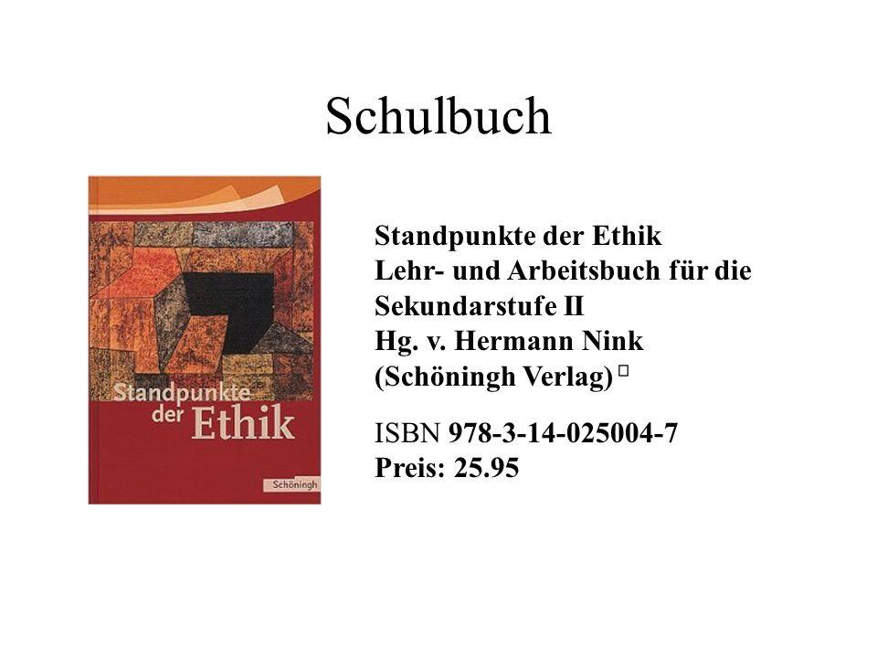 Schulbuch Standpunkte der Ethik