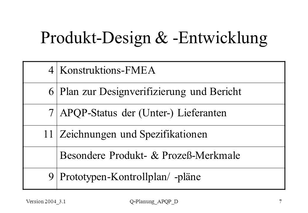 Produkt-Design & -Entwicklung