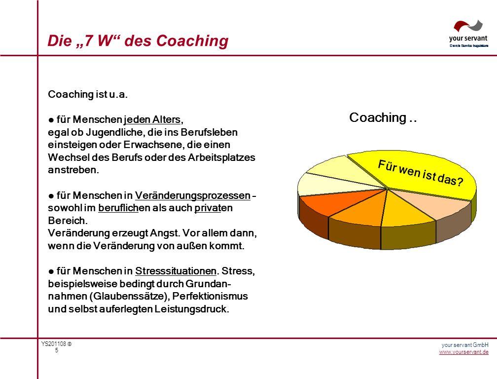 """Die """"7 W des Coaching Coaching .. Für wen ist das Coaching ist u.a."""