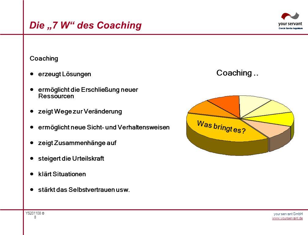 "Die ""7 W des Coaching Coaching .. Was bringt es Coaching"