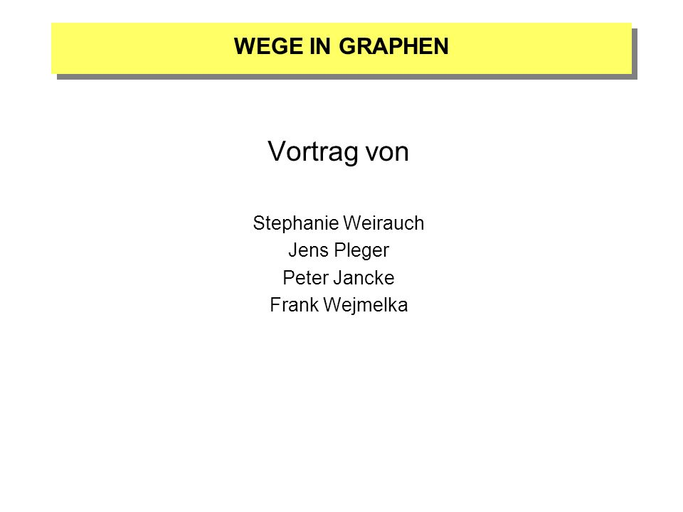 Vortrag von Stephanie Weirauch Jens Pleger Peter Jancke Frank Wejmelka