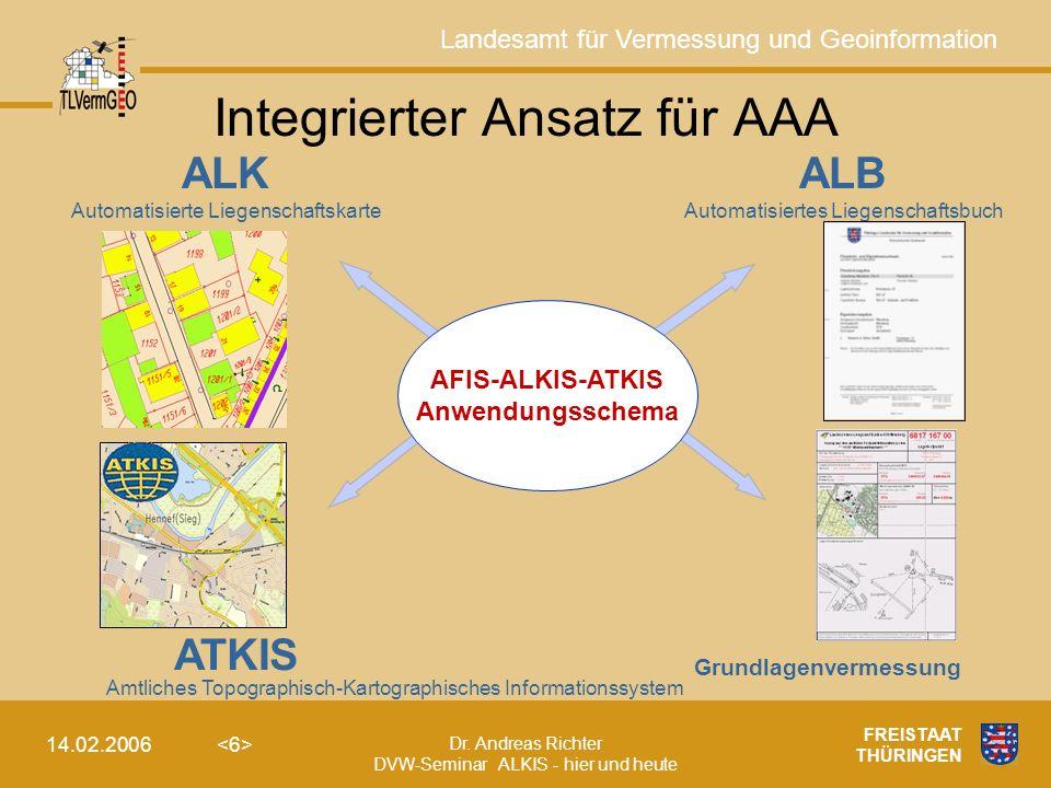 Integrierter Ansatz für AAA