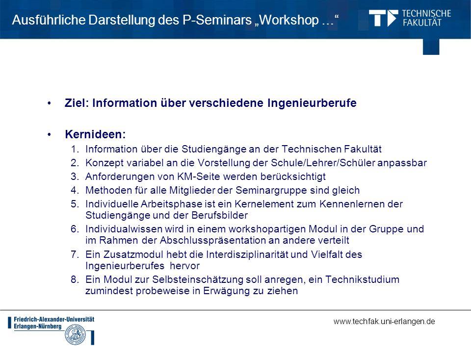 """Ausführliche Darstellung des P-Seminars """"Workshop …"""