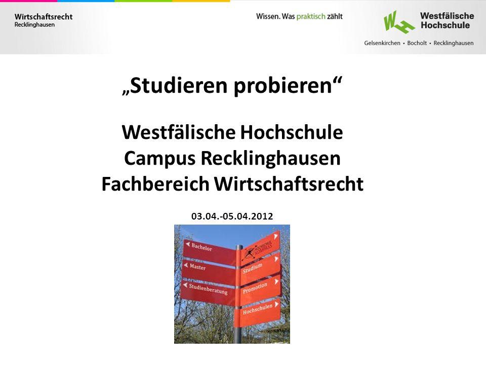 Westfälische Hochschule Campus Recklinghausen