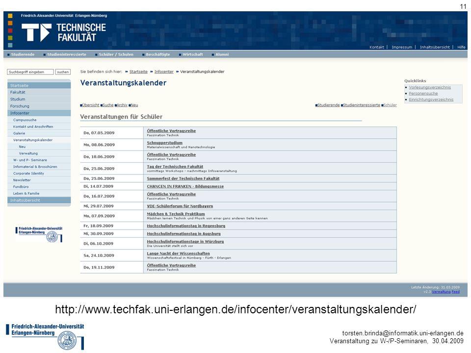 http://www. techfak. uni-erlangen