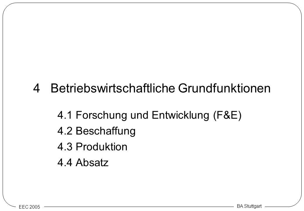 4 Betriebswirtschaftliche Grundfunktionen