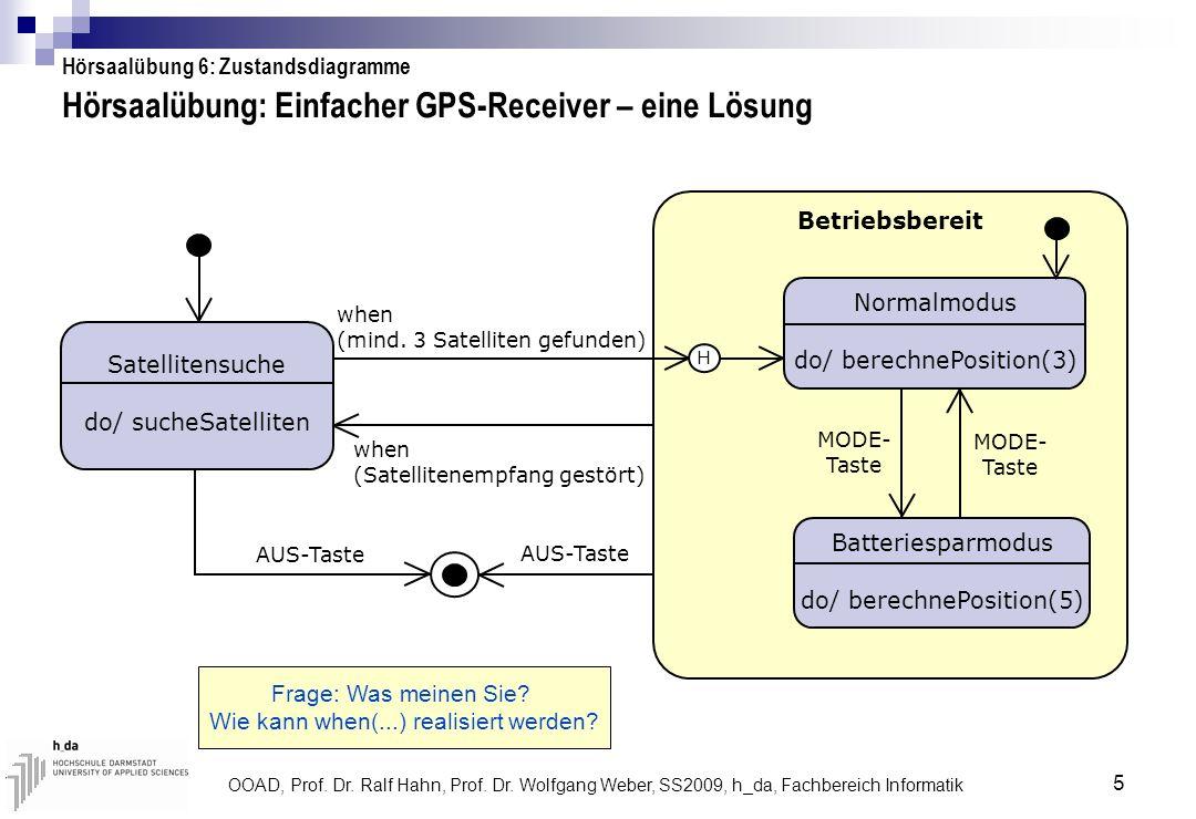 Hörsaalübung: Einfacher GPS-Receiver – eine Lösung