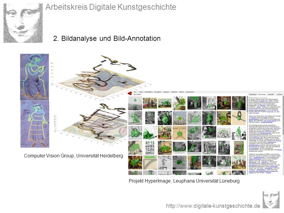 2. Bildanalyse und Bild-Annotation