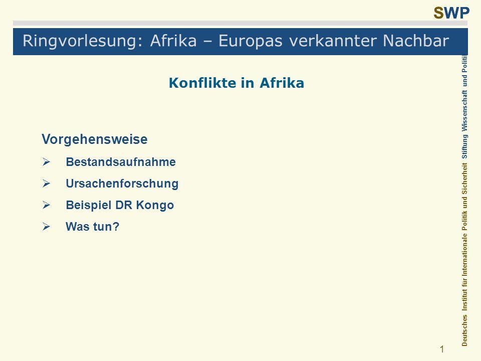 Ringvorlesung: Afrika – Europas verkannter Nachbar