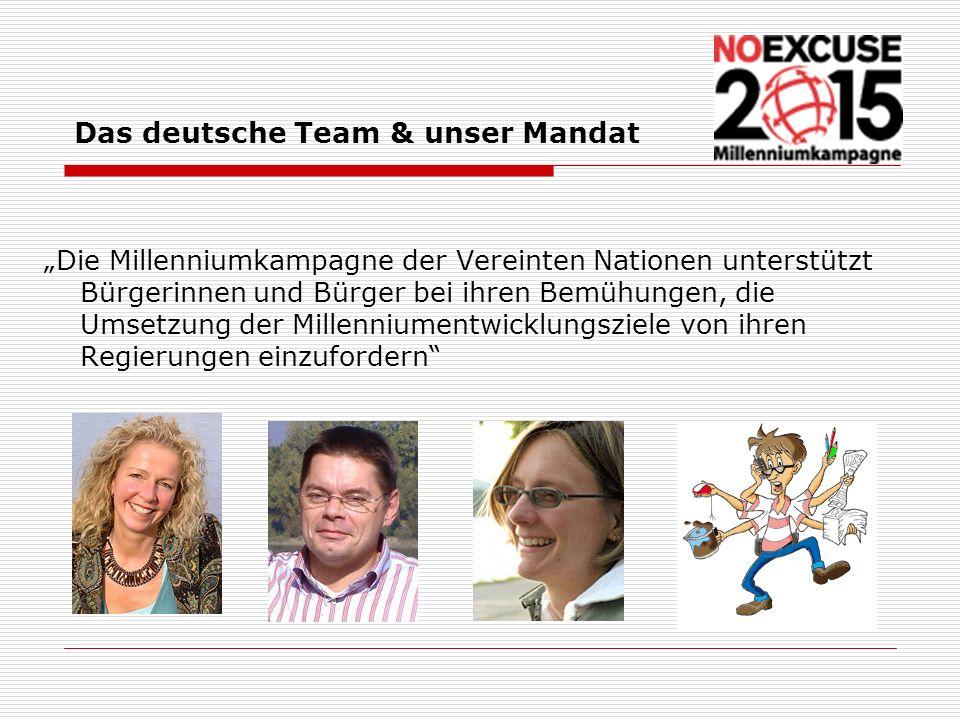 Das deutsche Team & unser Mandat