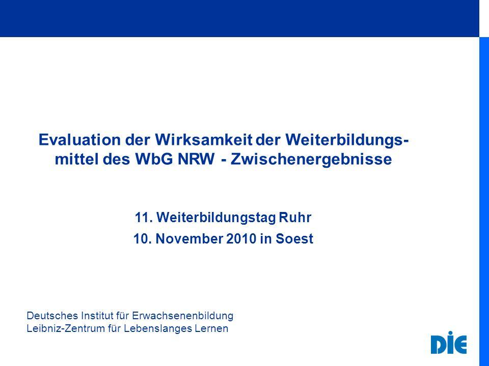 11. Weiterbildungstag Ruhr
