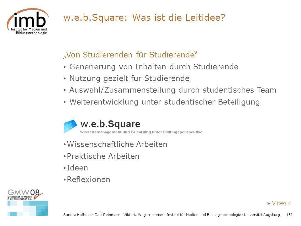 w.e.b.Square: Was ist die Leitidee
