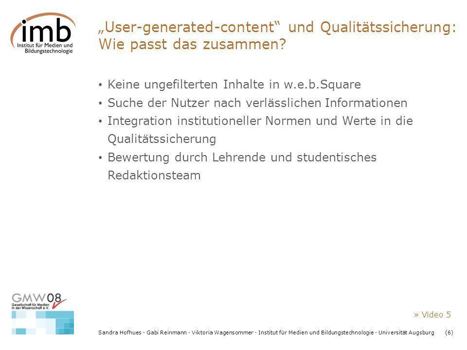 """""""User-generated-content und Qualitätssicherung: Wie passt das zusammen"""