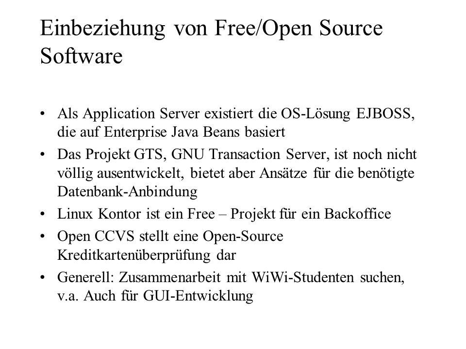 Einbeziehung von Free/Open Source Software