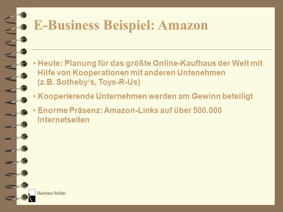 E-Business Beispiel: Amazon