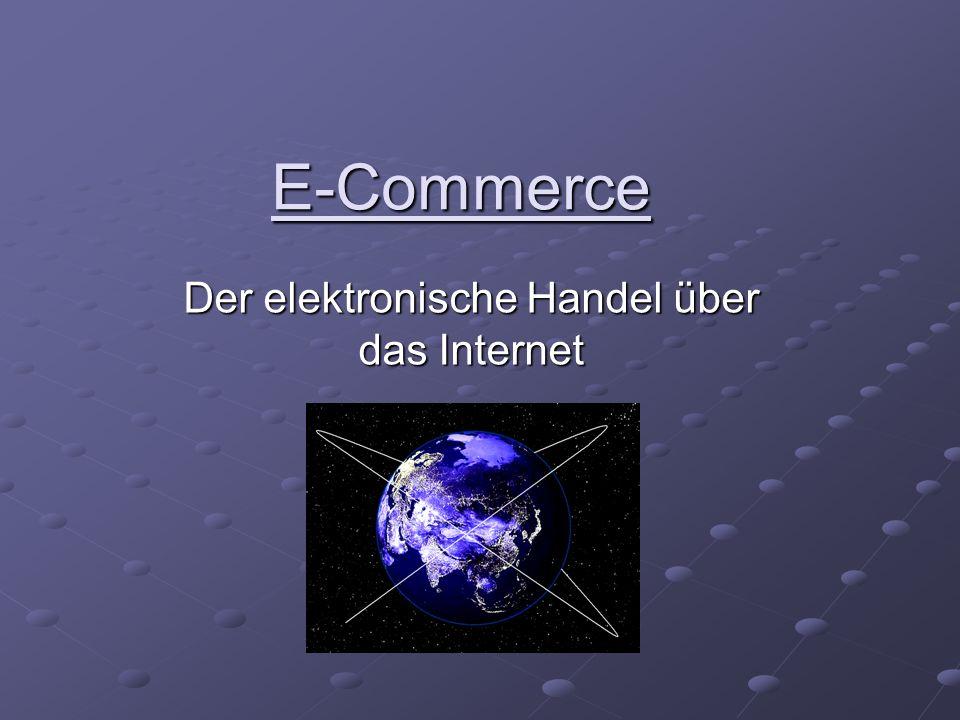 Der elektronische Handel über das Internet