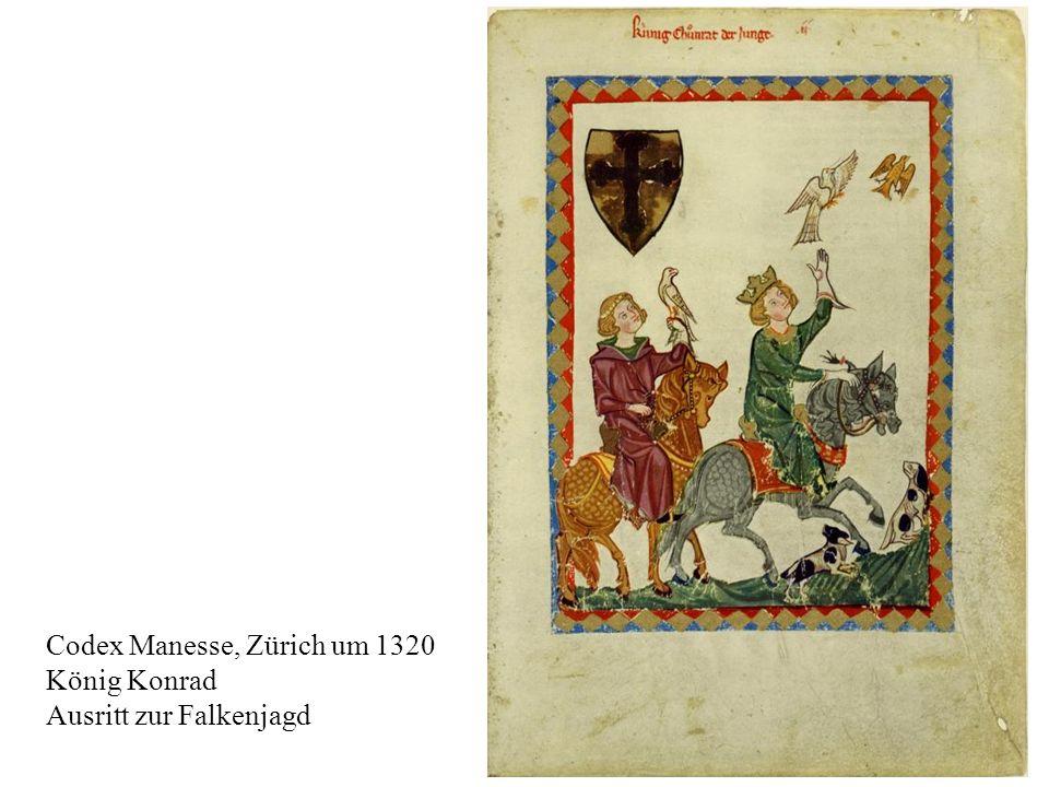 Codex Manesse, Zürich um 1320
