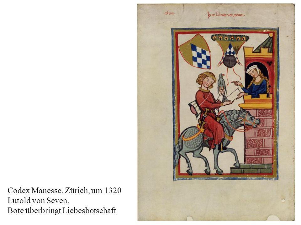 Codex Manesse, Zürich, um 1320