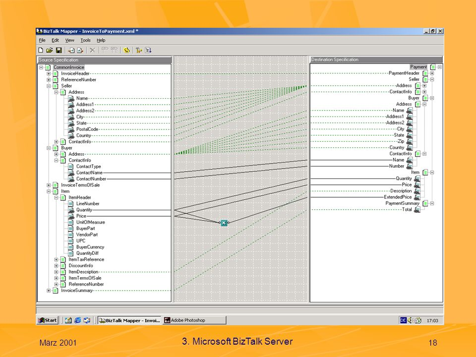 Mapper März 2001 3. Microsoft BizTalk Server