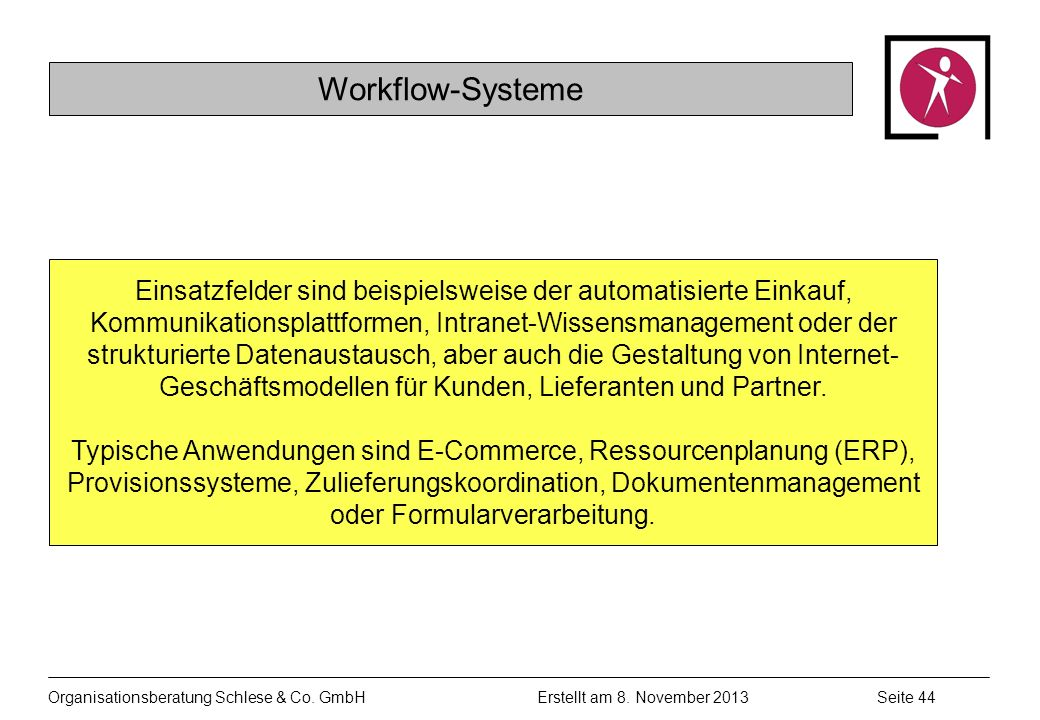 Workflow-Systeme