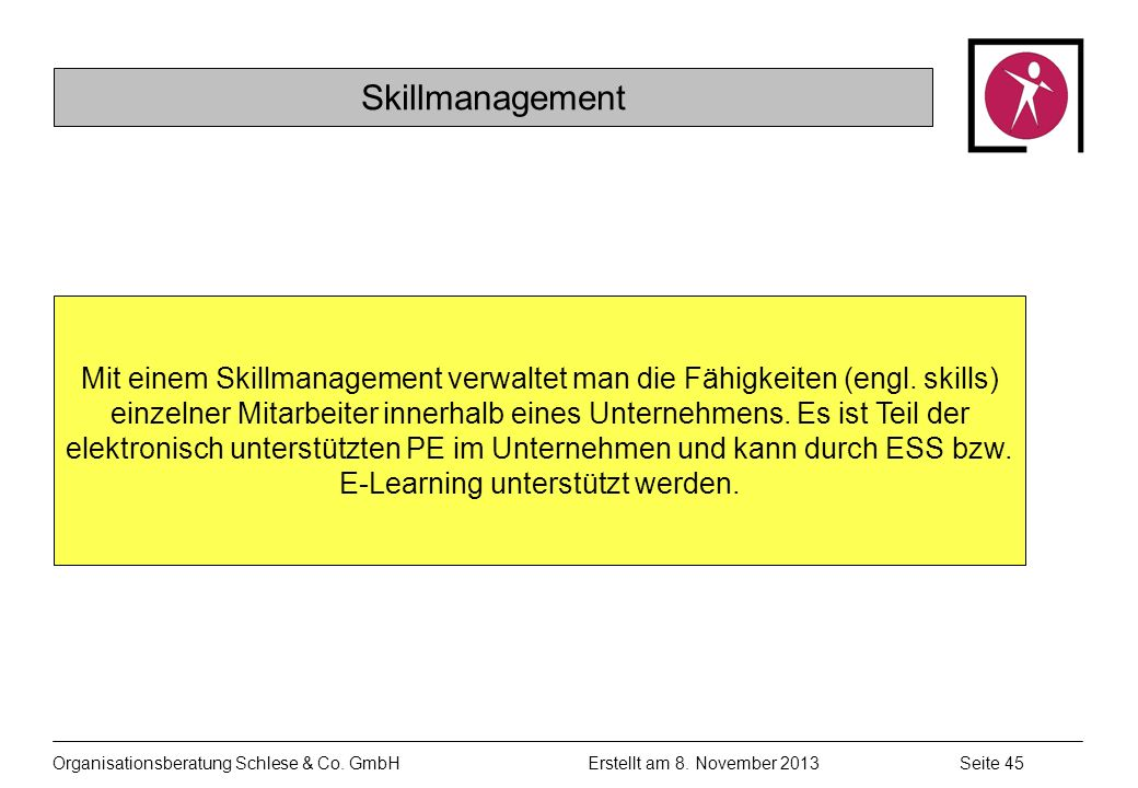 Skillmanagement