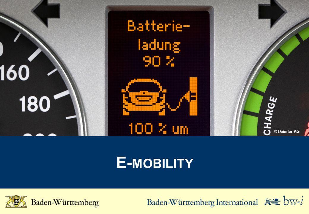 © Daimler AG E-mobility