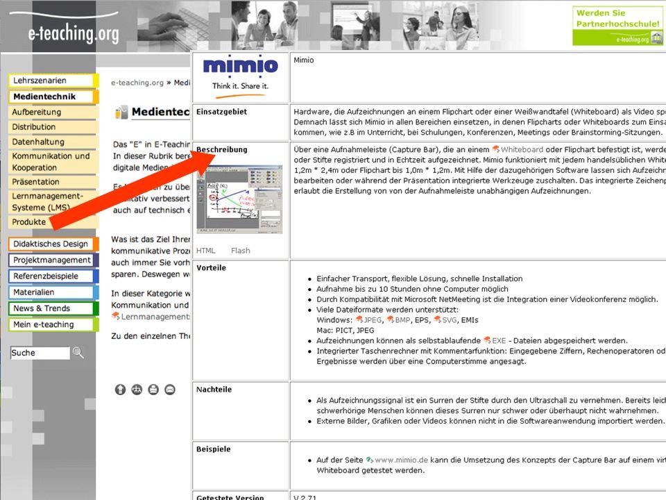 Entwicklung verschiedener Textsorten: Organizertexte im Sinne von Einführungstexten, Langtexte als PDFs