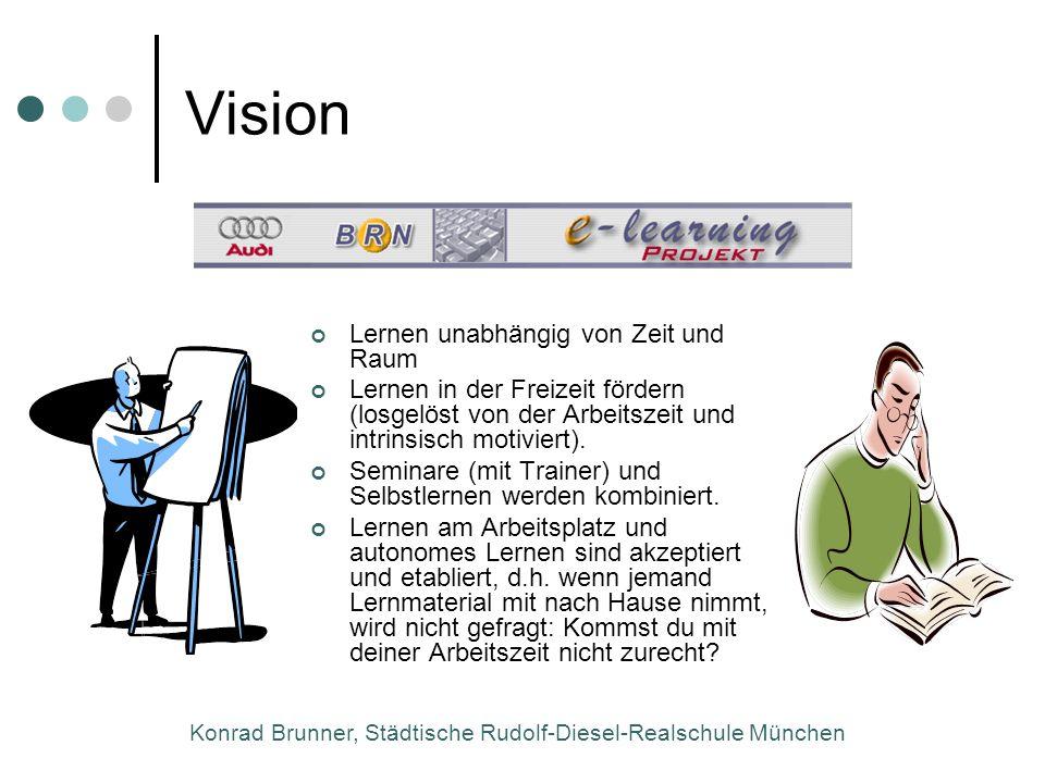 Konrad Brunner, Städtische Rudolf-Diesel-Realschule München