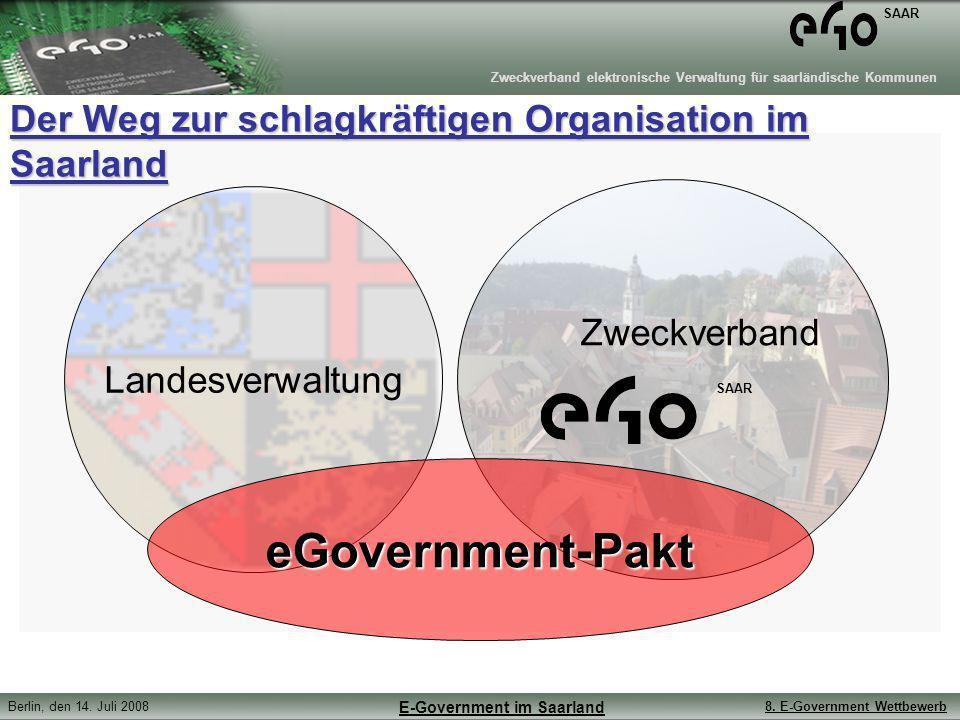 Der Weg zur schlagkräftigen Organisation im Saarland