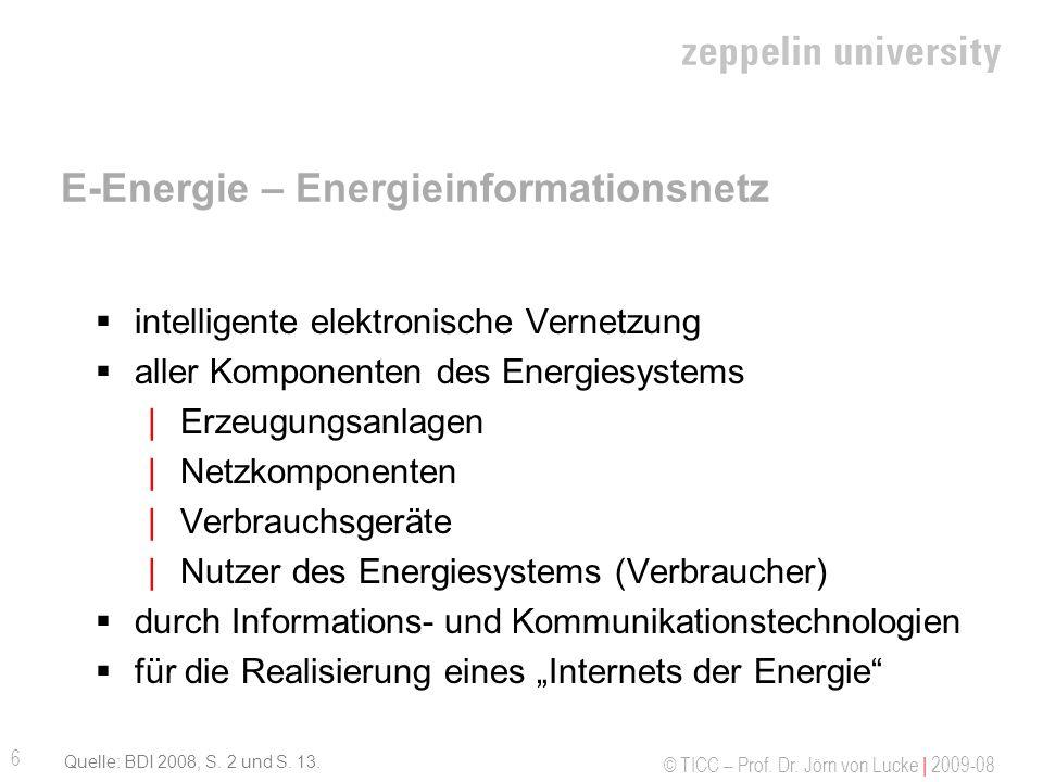 E-Energie – Energieinformationsnetz