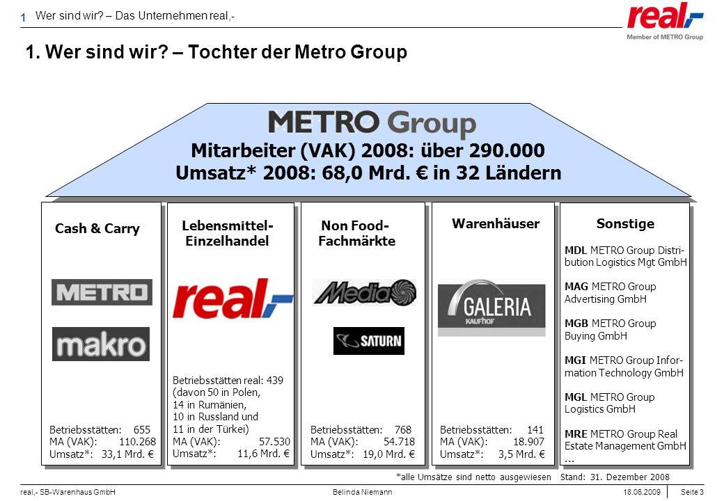 1. Wer sind wir – Tochter der Metro Group