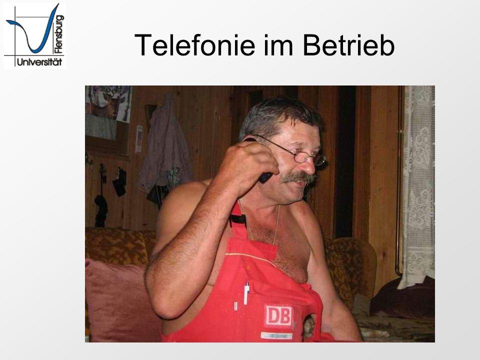 Telefonie im Betrieb