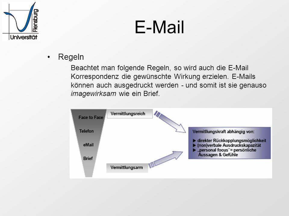 E-Mail Regeln.