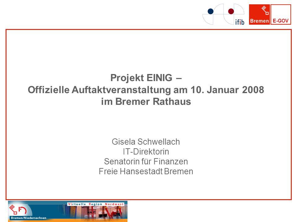 Projekt EINIG – Offizielle Auftaktveranstaltung am 10