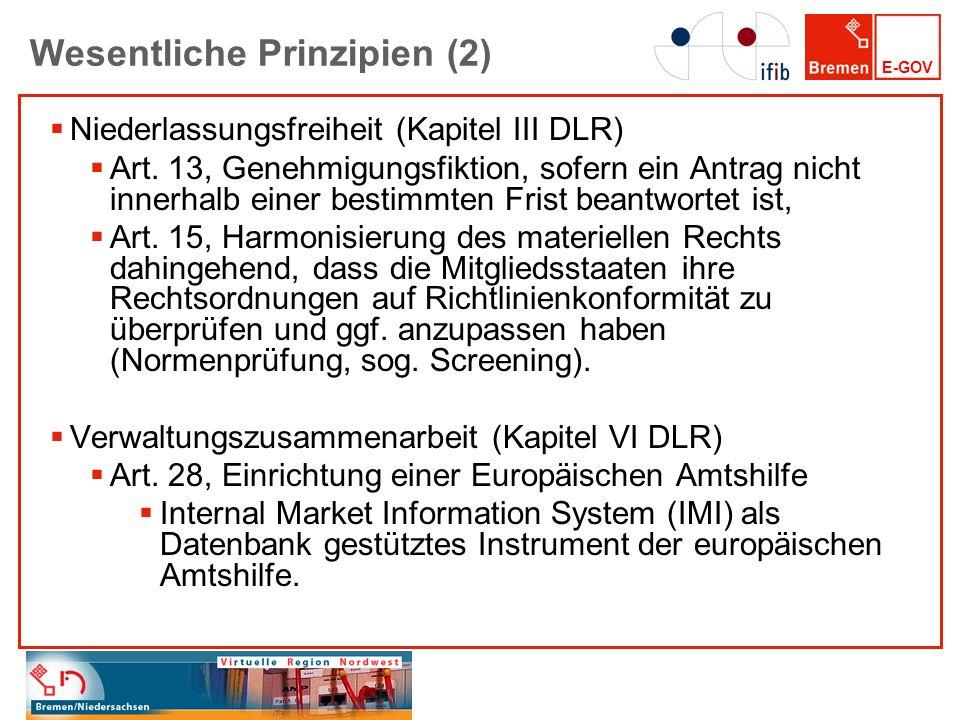 Wesentliche Prinzipien (2)