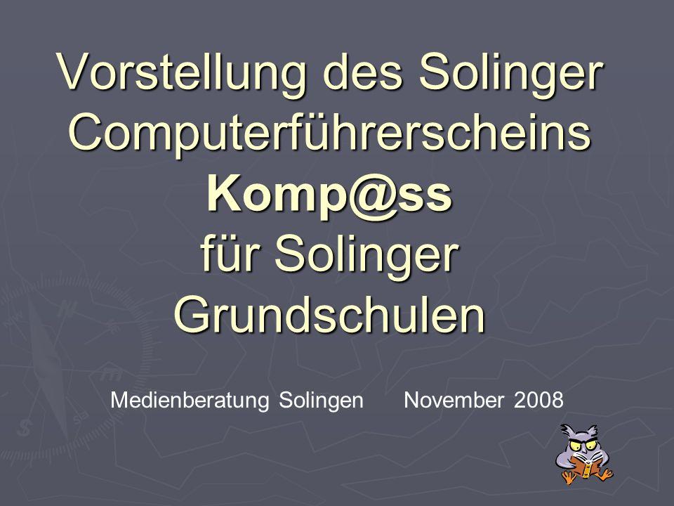 Medienberatung Solingen November 2008