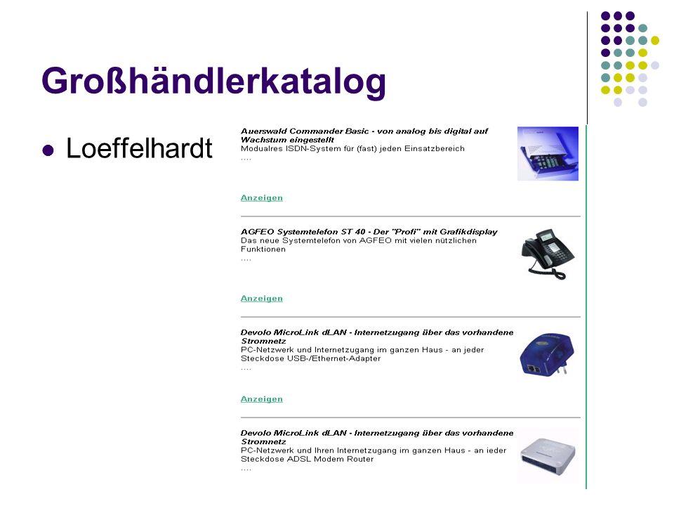 Großhändlerkatalog Loeffelhardt