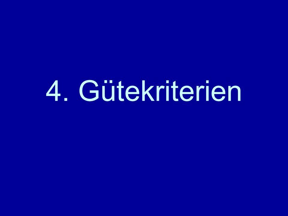 4. Gütekriterien