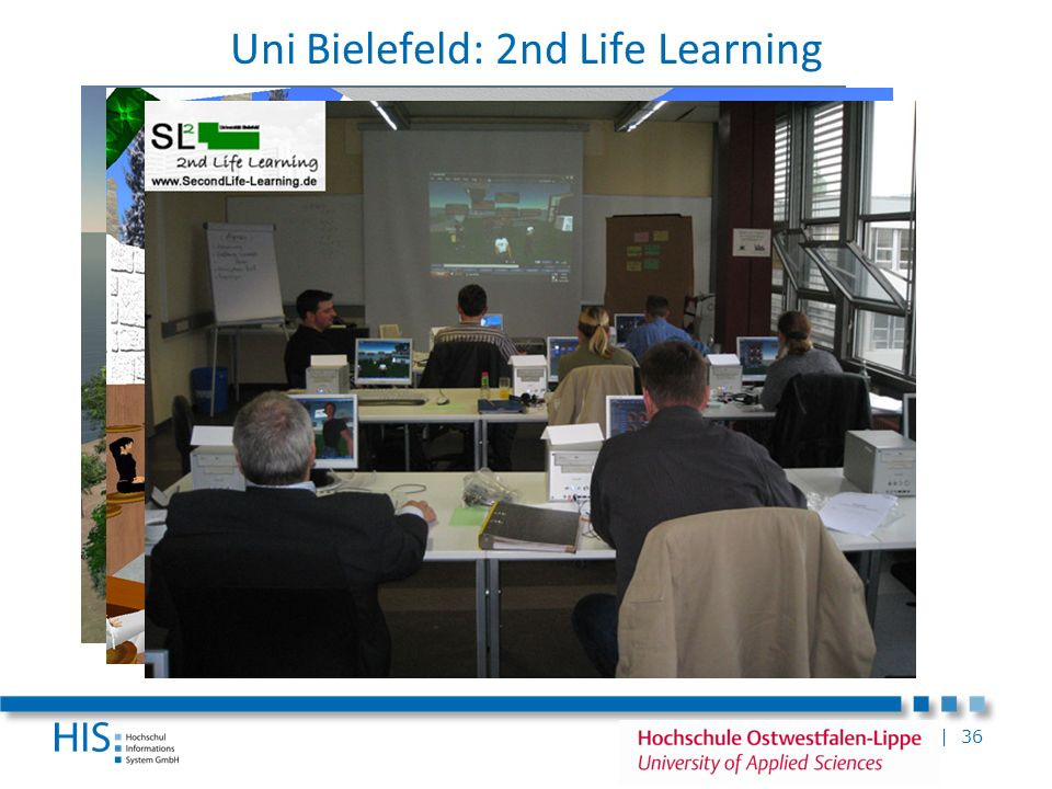 Uni Bielefeld: 2nd Life Learning