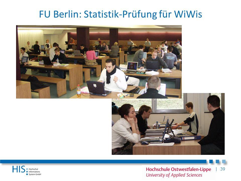 FU Berlin: Statistik-Prüfung für WiWis