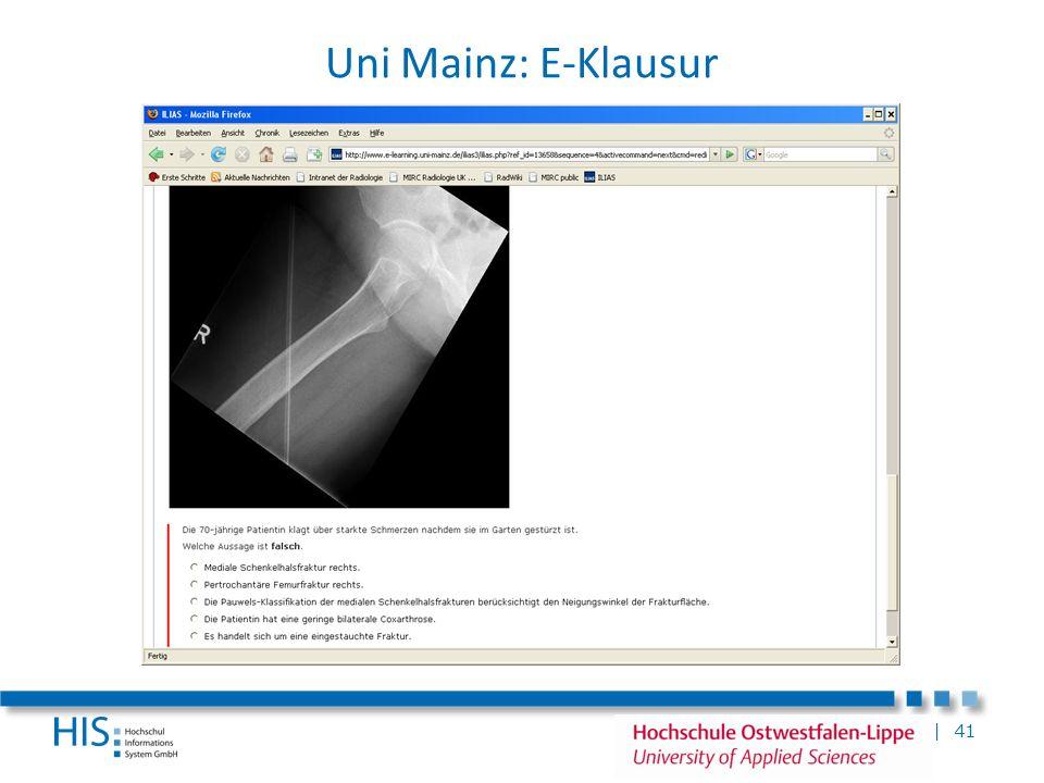 Uni Mainz: E-Klausur E-Klausuren an der Uni Mainz