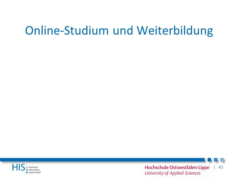 Online-Studium und Weiterbildung